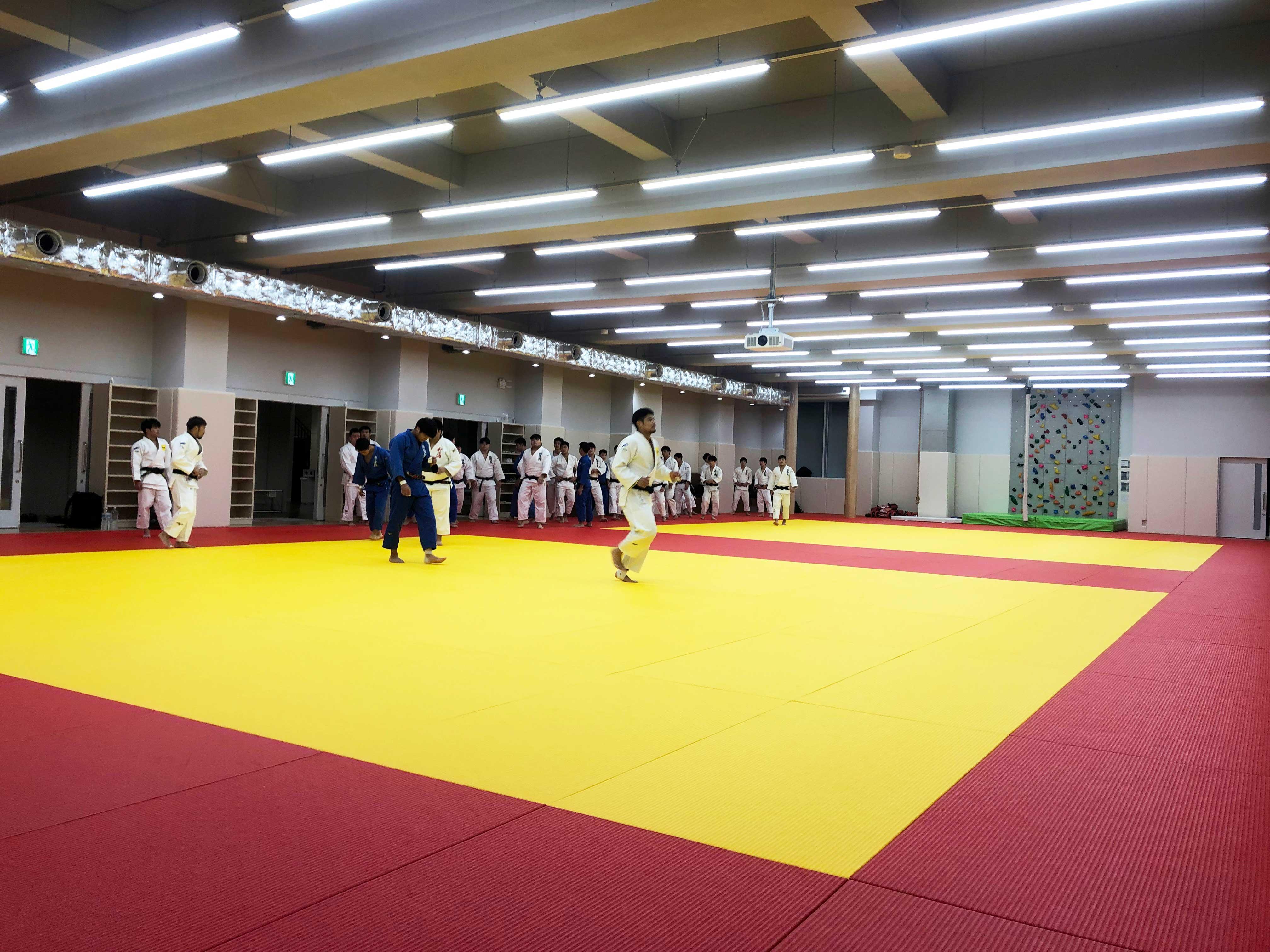 國學院大學たまプラーザ柔道場