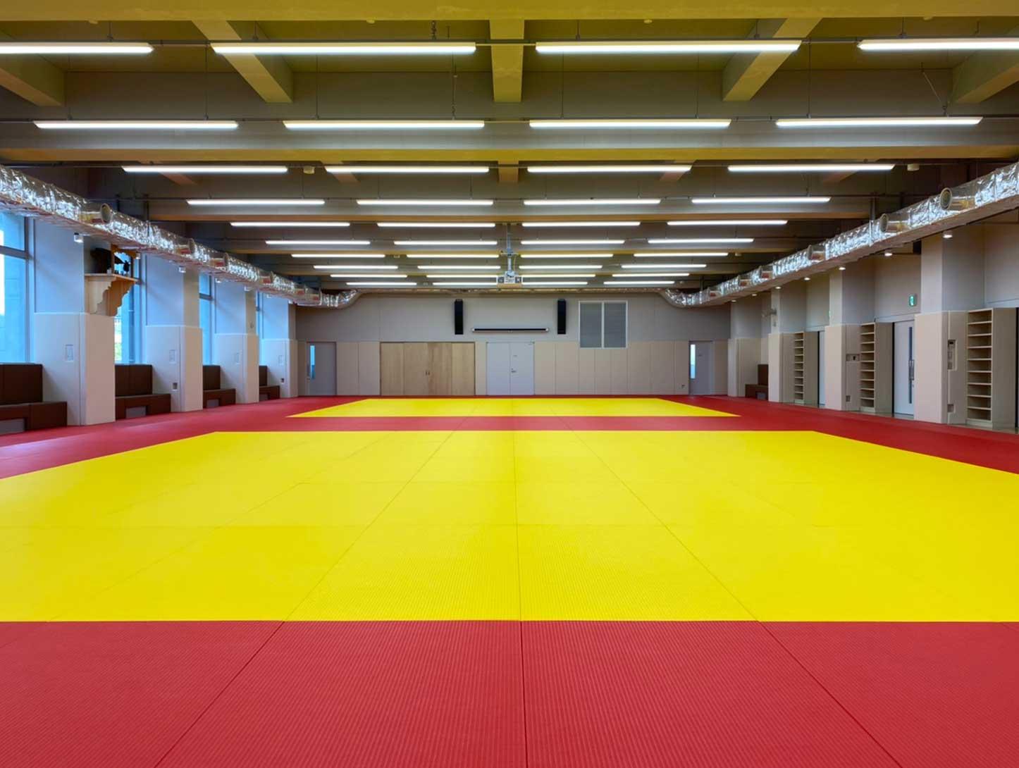 國學院大學たまプラーザ柔道場の柔道畳