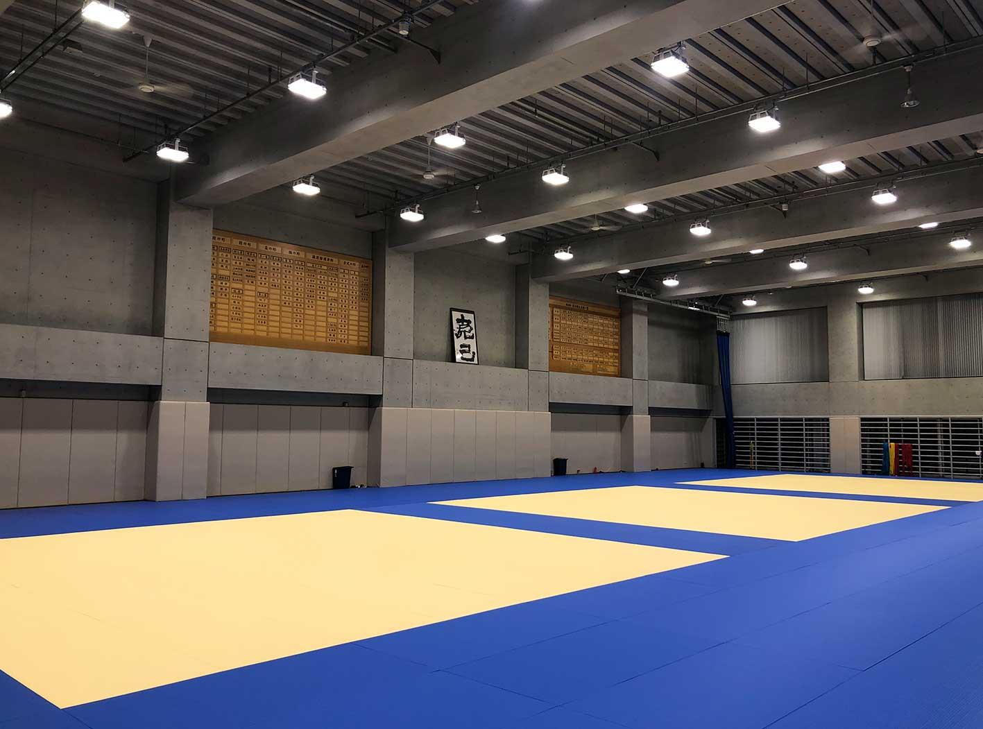 日本体育大学世田谷キャンパスの柔道場