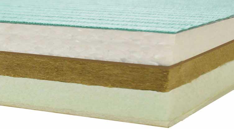 柔道畳断層の画像