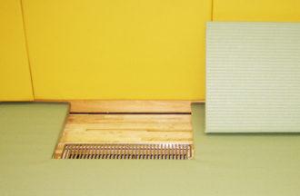 凸凹カット加工をした柔道畳