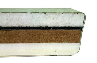 柔道畳KL-32K-50厚の断面図