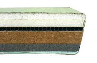 柔道畳KL-INT-50厚の断面図