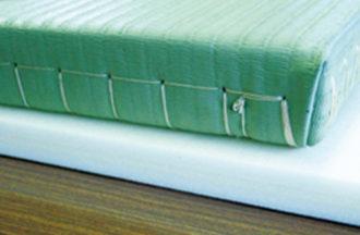 柔道畳の下に敷いた柔道クッション